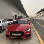 Audi TT Warm Up