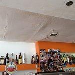 dit is het plafond van de bar