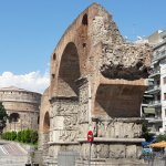 Arch of Galerius and the Rotunda