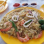 $12 Fried Hokkien Mee portion, enough for 2 pax