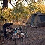 Camping safari with Lelobu