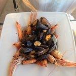 Plat : couscous de la mer