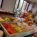 Fruit Corner at Breakfast