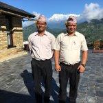 Various views of Tiger Mountain Pokhara Lodge - scenery, food, service, wildlife all in abundanc