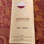 Speise- bzw Weinkarte