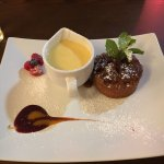 Sticky toffee pudding....perfect!
