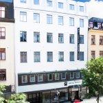 Hotellets fasad