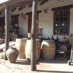 Used wine barrels and wooden crates for sale