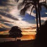 Amazing sunsets.