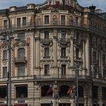 Art Nouveau facade of Hotel National