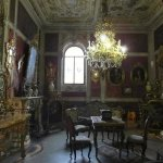 One of the rooms in the Stibbert Museum