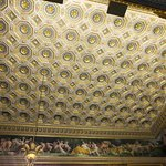 Every single ceiling and wall in the Stibbert Museum is decorated exquisitely.