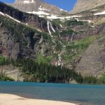 View at Grinnell Lake