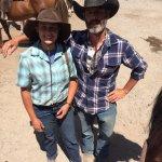 Amazing wrangler's Darla and John