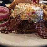 1/2 Lb Bacon, Pimento Burger
