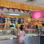 Ice cream popular this hot day