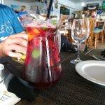 Nice refreshing jug of sangria