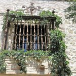 Window in the courtyard.