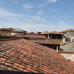 Typical view of Florence roof line from corridor window