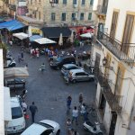 Mercato Ballaro - view from my apartment