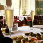 Sunday Champagne Brunch at the hotel featuring Moet.