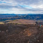The landscape and weather are ever-changing throughout the hike, providing highly varied views.