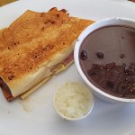 Cuban Sandwich and Black Bean Soup