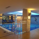 Indoor pool and gym