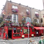 In the Temple Bar District of Dublin