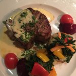 Beef fillet with Hollandaise sauce