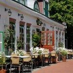Außenansicht des historischen Restaurants