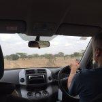 Driving Through Nairobi National Park
