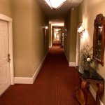 Picture of the hallway and a room