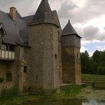 Chateau de la Grande Courbe, Bree, Mayenne