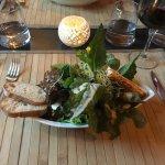 Wunderbar frischer Salat direkt aus dem Garten <3