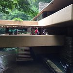 Cantilevered deck at Wright's Fallingwater