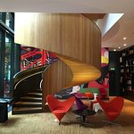 Funky chilled hotel.