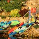 6 kayaks 2 SUPS & 1 paddleboat