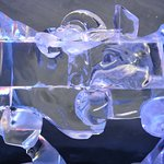 More ice carvings.