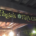 Page's Okra Grill sign