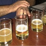 6 local table Beer to taste test