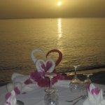 Special Beach Dinner romantic set up Platinum Dinner Under the Stars