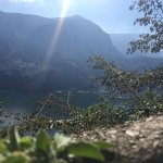 il lago visto da metàmonte