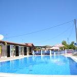 Pool bar & pool at Ektors