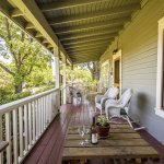 The front porch is another great place to relax and visit.