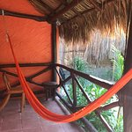 Our hammock outside our room