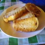 Pan recién tostado