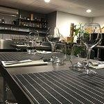Salle Coté bar table haute