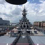 Photo of Battleship Wisconsin