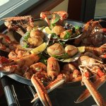 Local scallops and prawns - Outstanding!